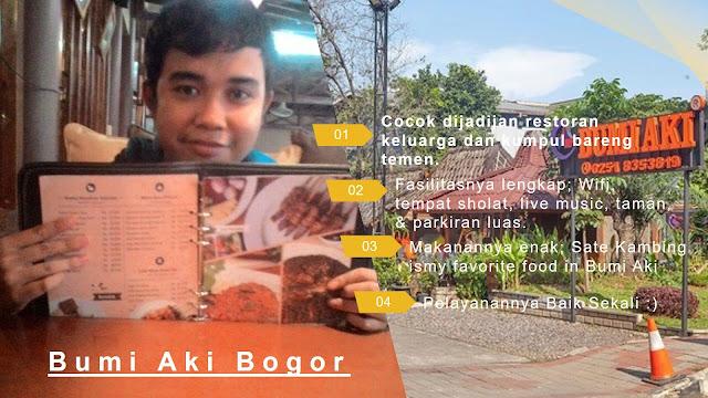 Pendapat saya mengenai Bumi Aki Bogor