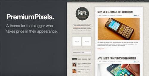 premium pixels theme