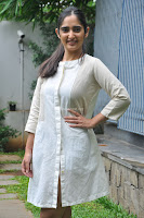 Radhika Cute Young New Actress in White Long Transparent Kurta ~  Exclusive Celebrities Galleries 063.JPG
