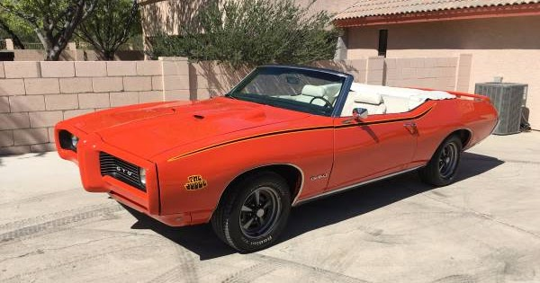 1969 pontiac gto judge convertible for sale buy american muscle car. Black Bedroom Furniture Sets. Home Design Ideas