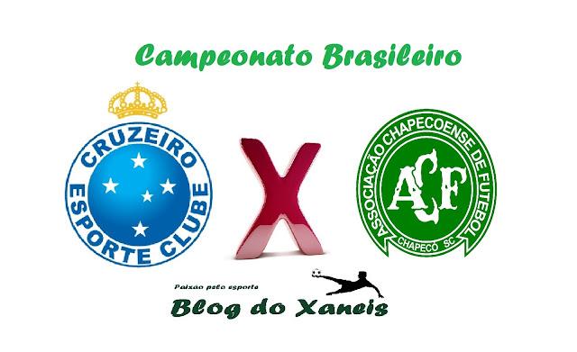 Cruzeiro x Chapecoense Brasileirão Série A