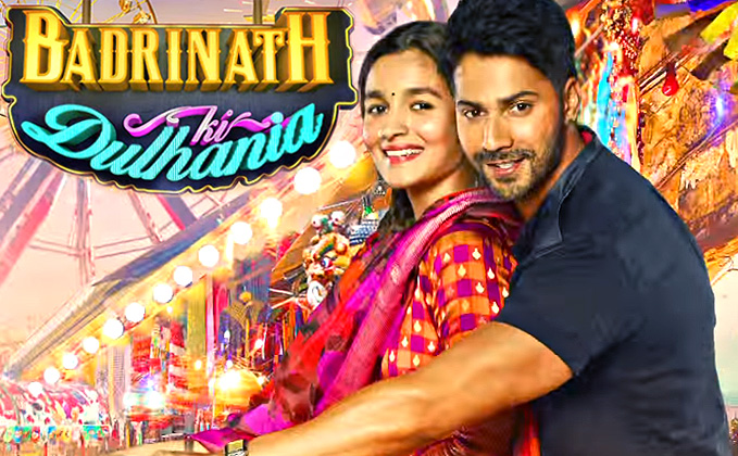 New Upcoming movie Badrinath Ki Dulhania Varun Dhawan, Alia Bhatt poster, release date 10 March 2017