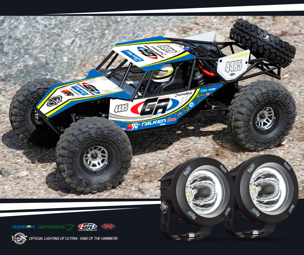 Genright Is Partnering Up With Vision X Along Horizon Hobby And Rc4wd To Give Two Lucky Winners A Limited Edition Radio Controlled Off Road