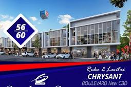Ruko Chrysant Boulevard Citraindah City