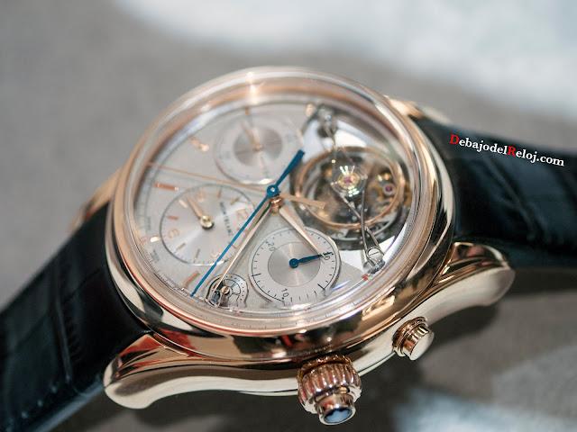 Montblanc Heritage Chronométrie ExoTourbillon Rattrapante LADO