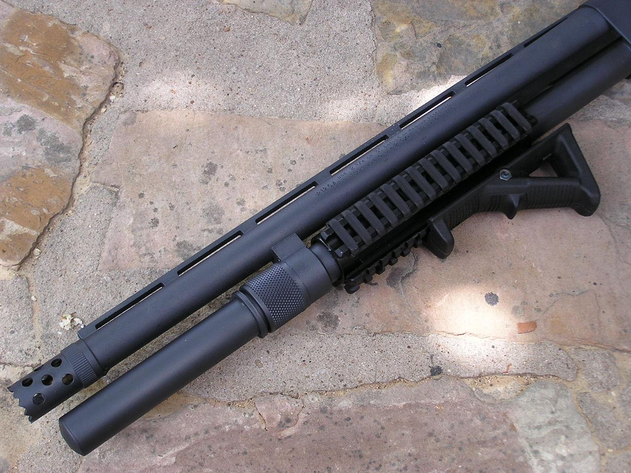 Rifle Amp Shotgun Modifications Remington 870 Police Magnum