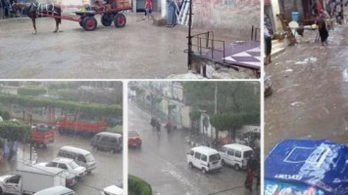 نبأ عاجل من الارصاد للمواطنين الامطار اليوم ستصل لحد السيول علي القاهره