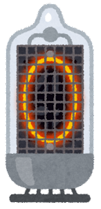 ニキシー管のイラスト(0)