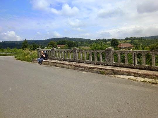 Most nad rzeką Ścinawka.