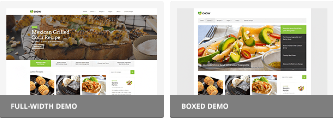 chow html5 template