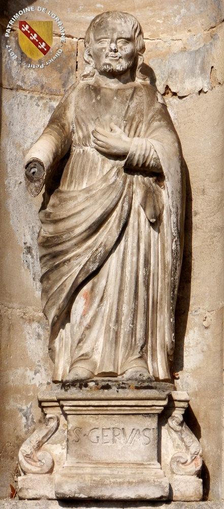 GOUSSAINCOURT (55) - Fontaine Saint-Gervais-et-Saint-Protais (1804-1851)