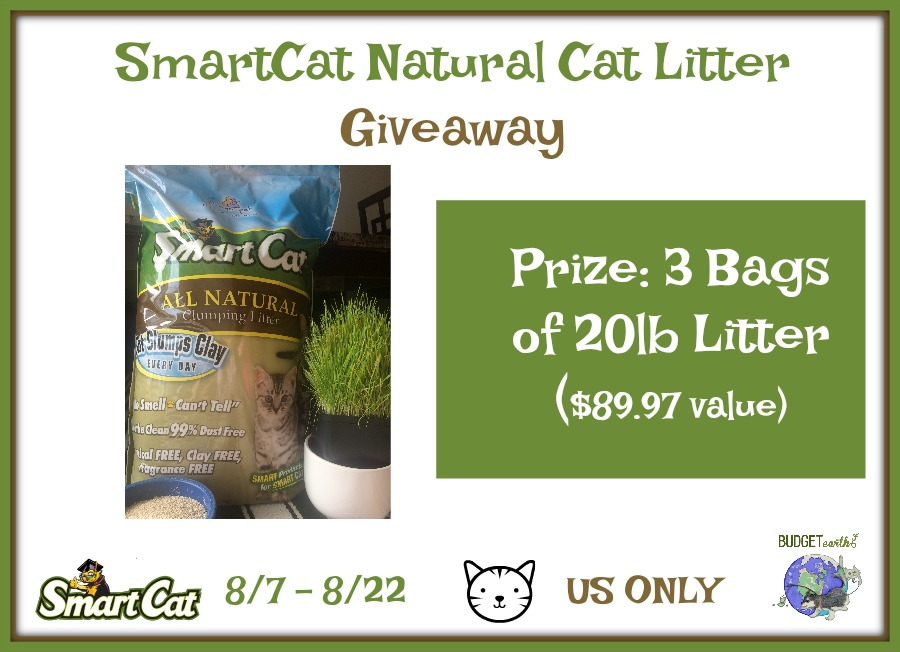 New Age Mama Smartcat All Natural Litter Giveaway