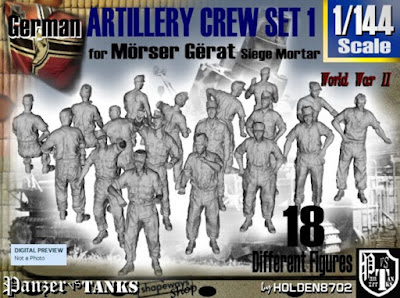 1-144 German Arty Crew Set 1 picture 1