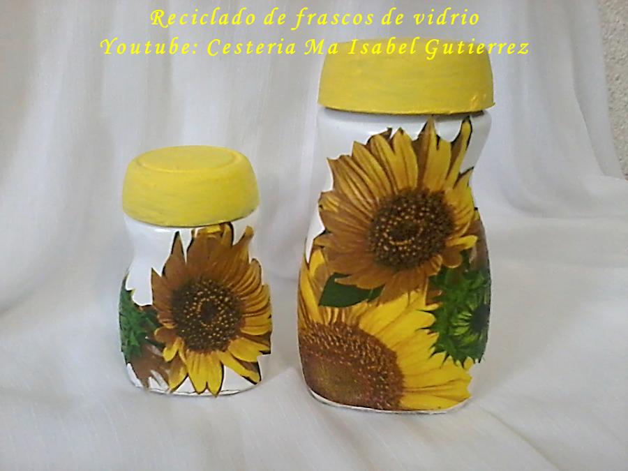 Decoracion de frascos manualidades de vidrio for Decoracion de frascos de vidrio para cocina