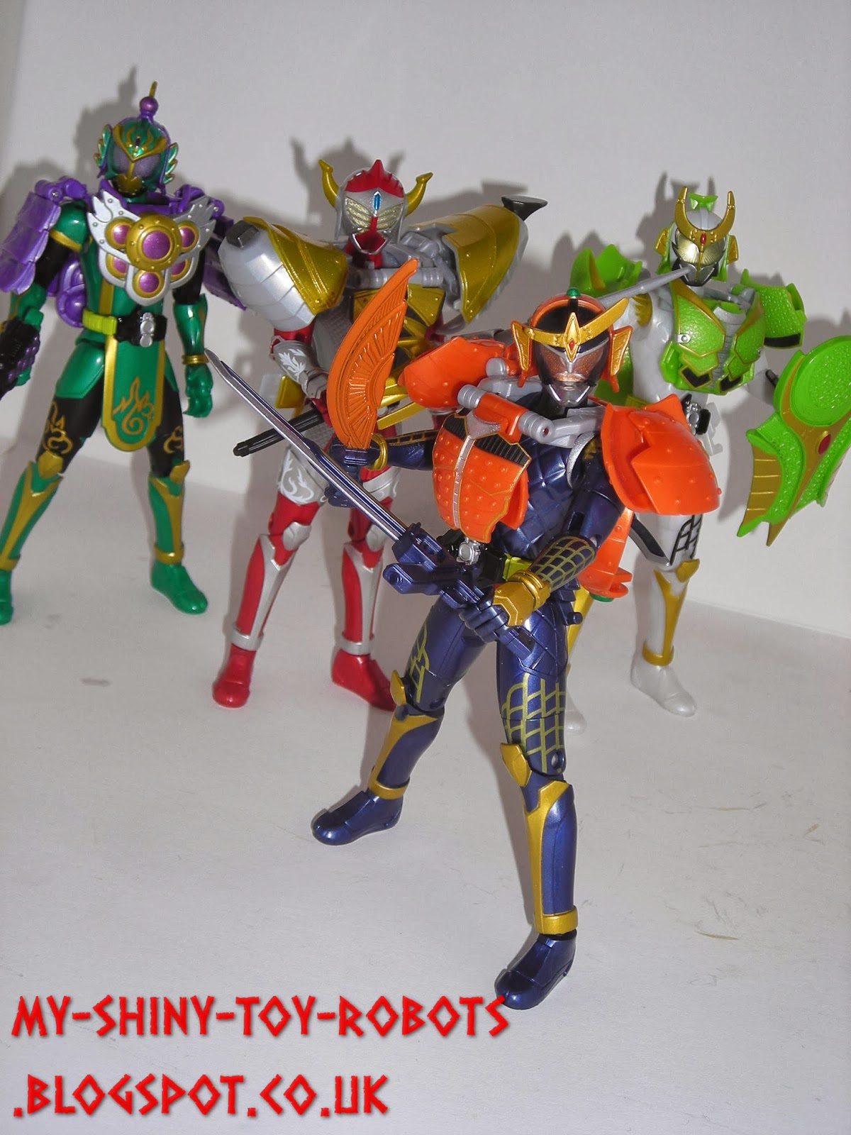 Armored Riders together!