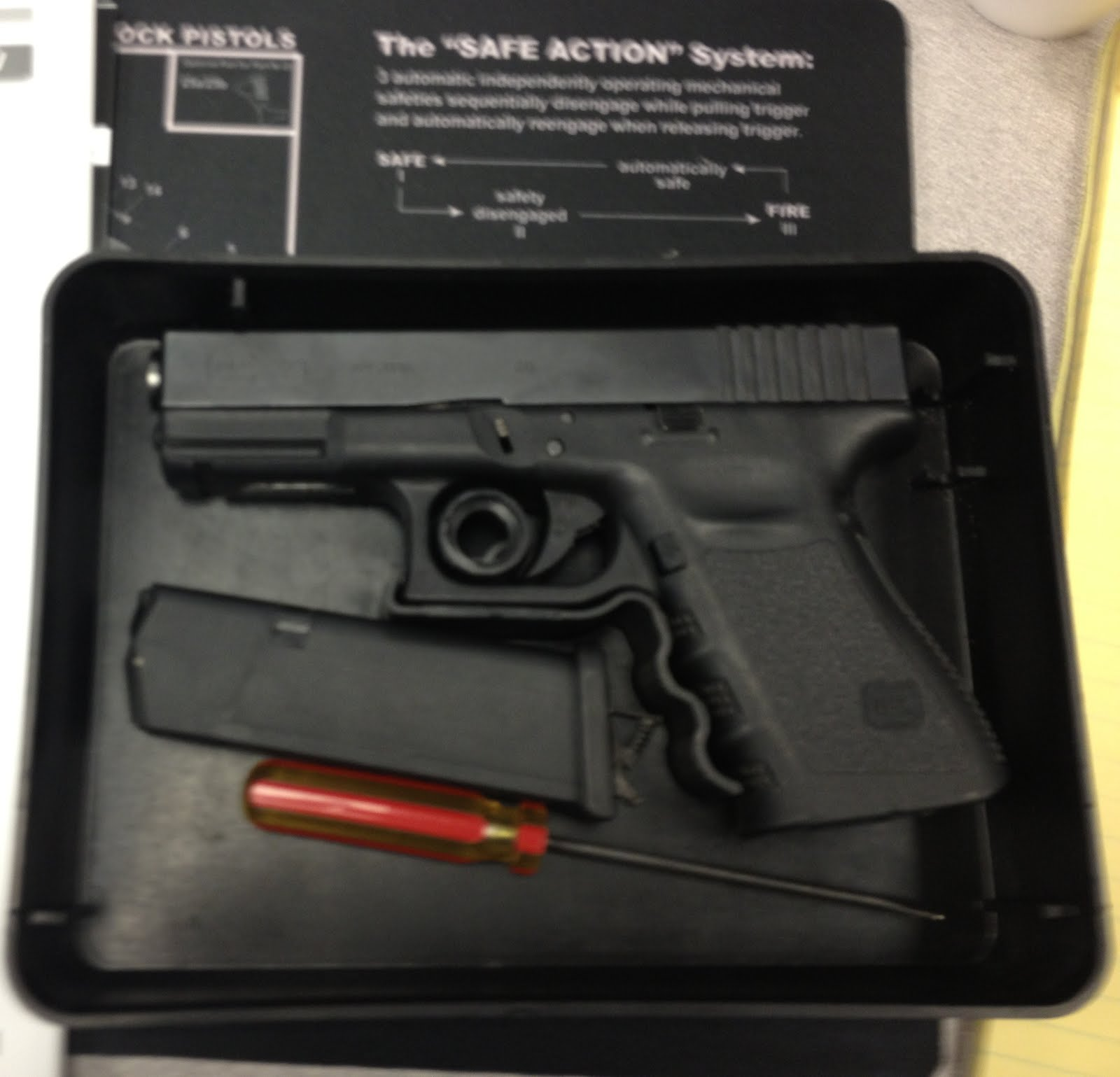 Glock Armorers Course Thoughts