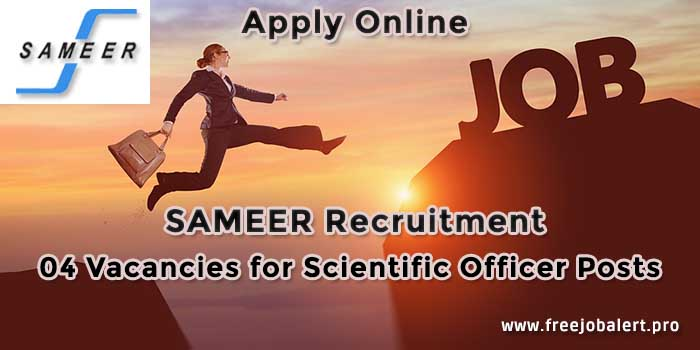 sameer recruitment vacancies apply online