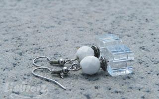 Eleganckie kolczyki ze srebrną przekładką