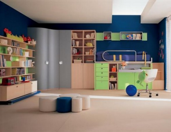Muebles para una Habitacin Infantil con mucho Color Infantil Decora
