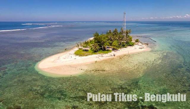 Foto Pulau Tikus Wisata Bengkulu