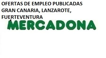 Lanzadera de Empleo Virtual Las Palmas, Ofertas Mercadona