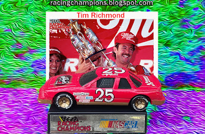 Tim Richmond #25 Folgers Racing Champions blog 1/64 NASCAR Race Club die-cast