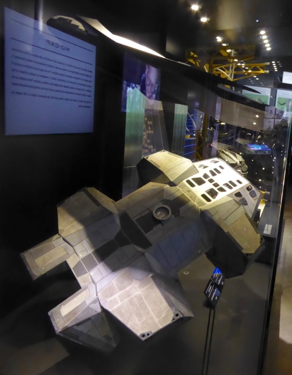 Interstellar spacecraft model