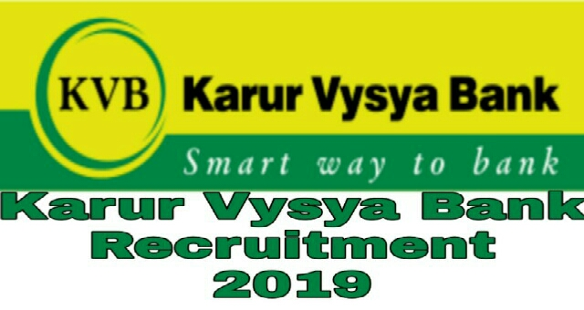 KVB Recruitment 2019