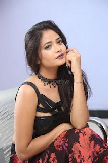 Shriya Vyas in a Tight Backless Sleeveless Crop top and Skirt 121.JPG