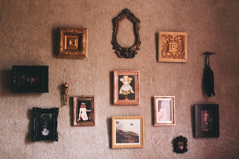 gallery wall art decor room sala decoração arte