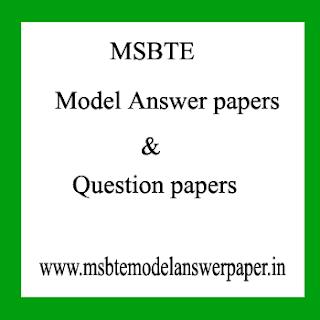 MSBTE QUESTION PAPER SUMMER 2019