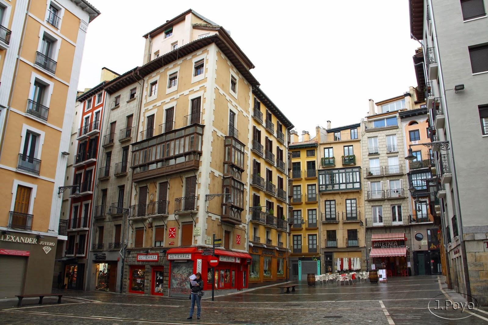 Calle mercaderes, Pamplona