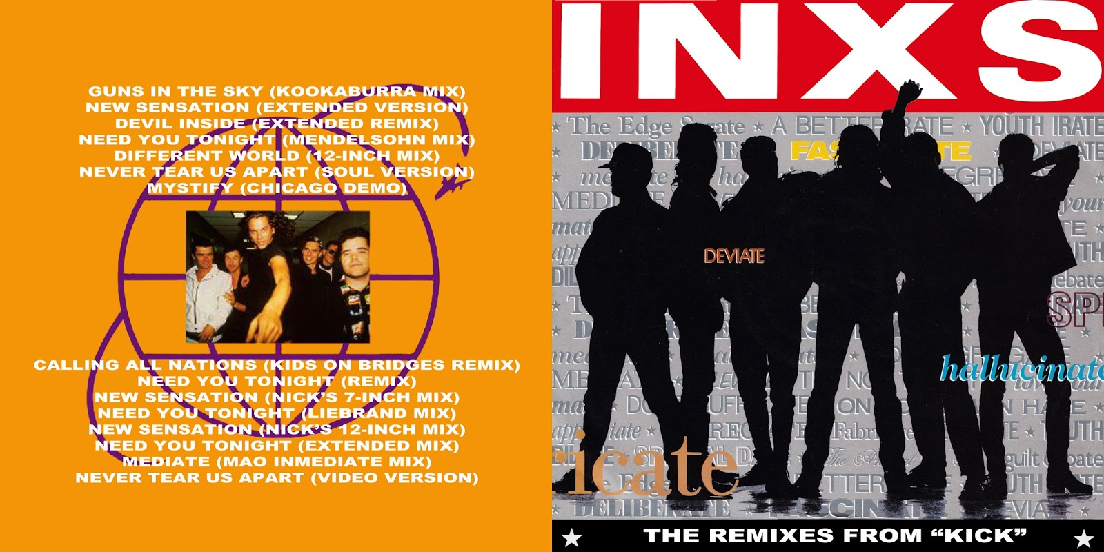 Inxs remix deep house