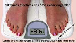 Cómo evitar engordar: 10 trucos efectivos que deberías saber
