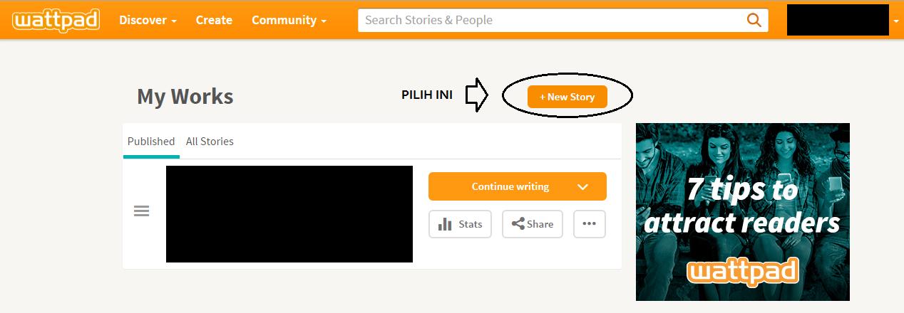Tutorial Memulai Cerita Baru Di Wattpad Plus Tips Untuk Novel