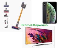 Logo Grande concorso Pam Panorama 35° anniversario: vinci 75 TV Samsung, 75 Iphone e 75 Aspirapolveri Dyson