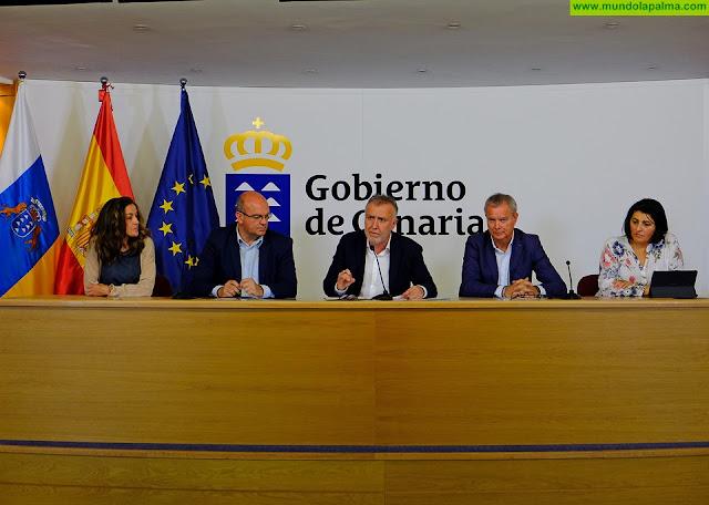 Ángel Víctor Torres hace balance de las consecuencias provocadas por la situación meteorológica adversa en Canarias