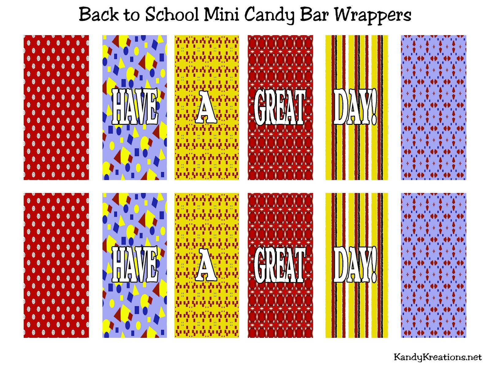 free mini candy bar wrapper template - back to school candy bar template just b cause