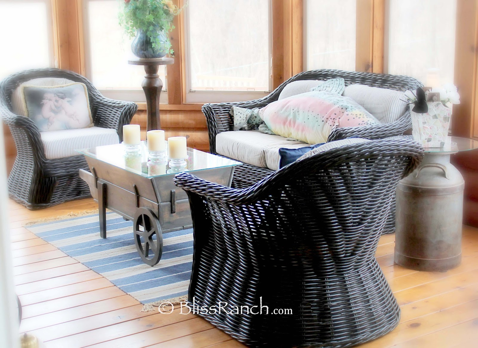 From My Front Porch To Yours- How I Found my Style Sundays-3 Season Porch Bliss-Ranch.com