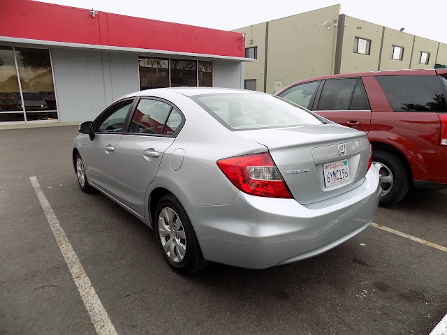 Honda Civic after collision repairs at Almost Everything Auto Body.