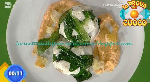 Millefoglie di pagello con bieta e pomodoro ricetta Improta da Prova del Cuoco
