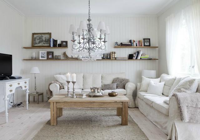 Noir blanc un style for Petite maison scandinave