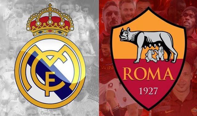 مشاهدة مباراة ريال مدريد وروما بث مباشر