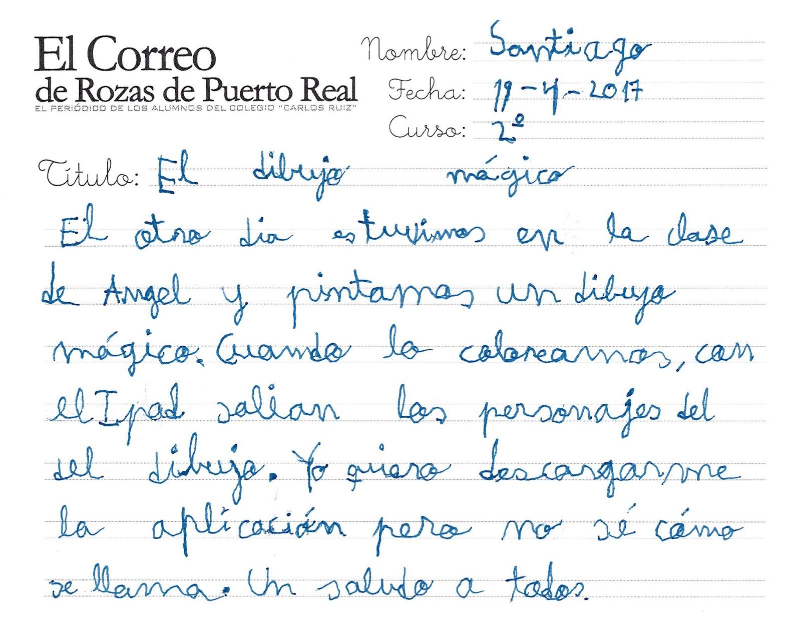 El Correo De Rozas De Puerto Real El Dibujo M Gico