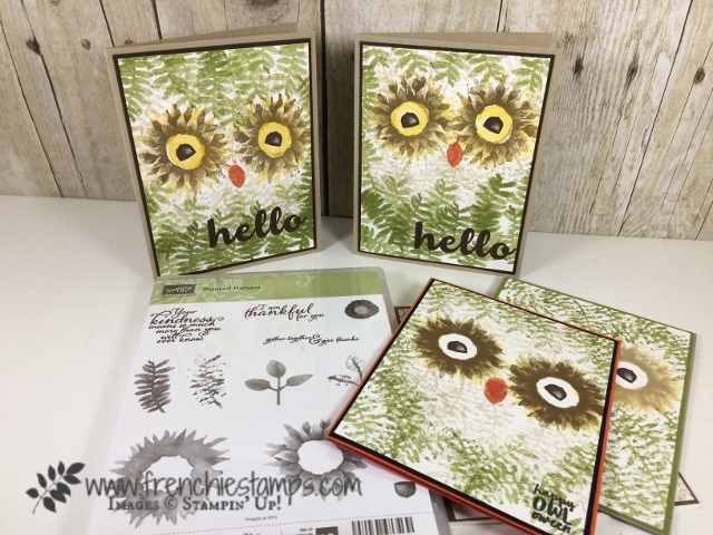 Painted Harvest, Owl, Stampin'Up!, Spooky Cat, Hello Friends,