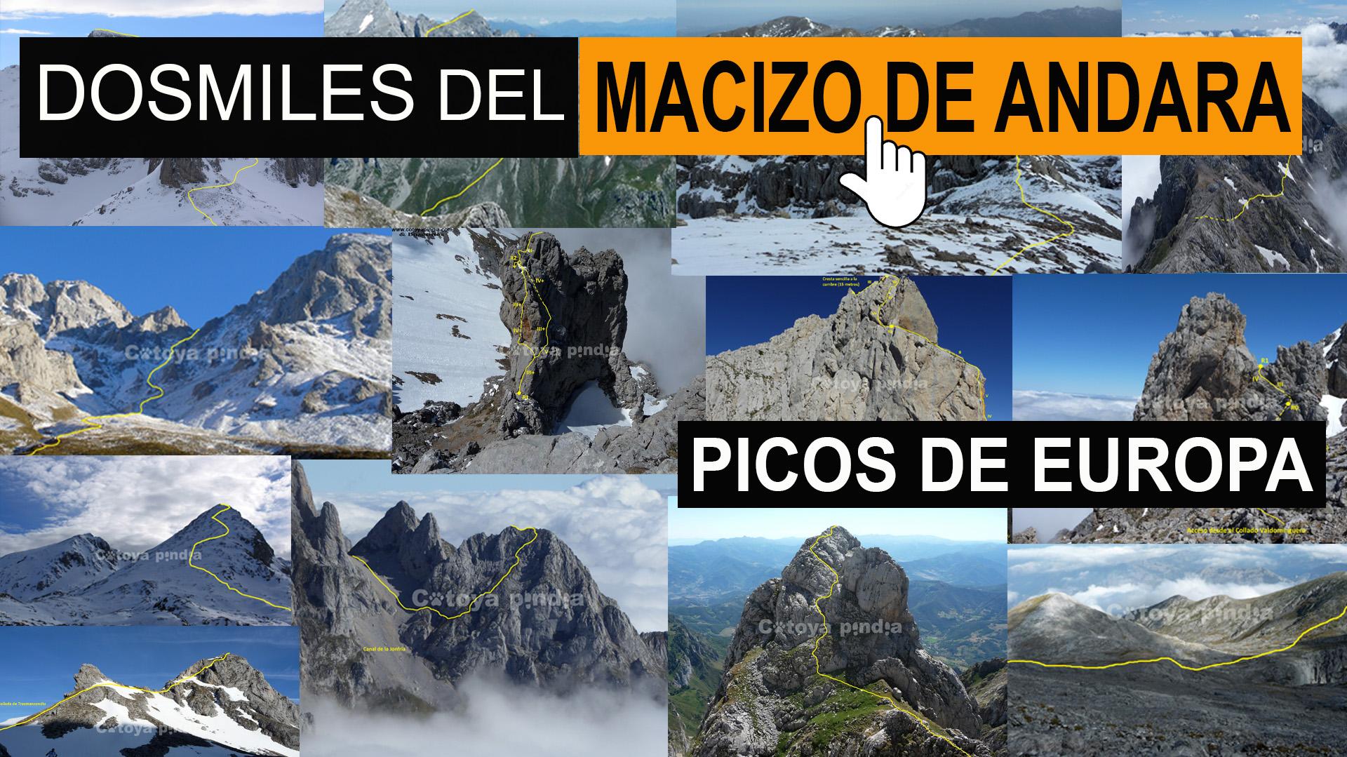 """Dosmiles"" del Macizo Oriental o de Andara."