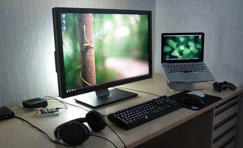 computer setup monitor station stations truly amazing laptop clean game