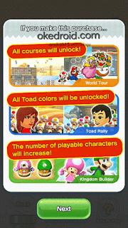 Membuka semua fitur yang ada Super Mario Run