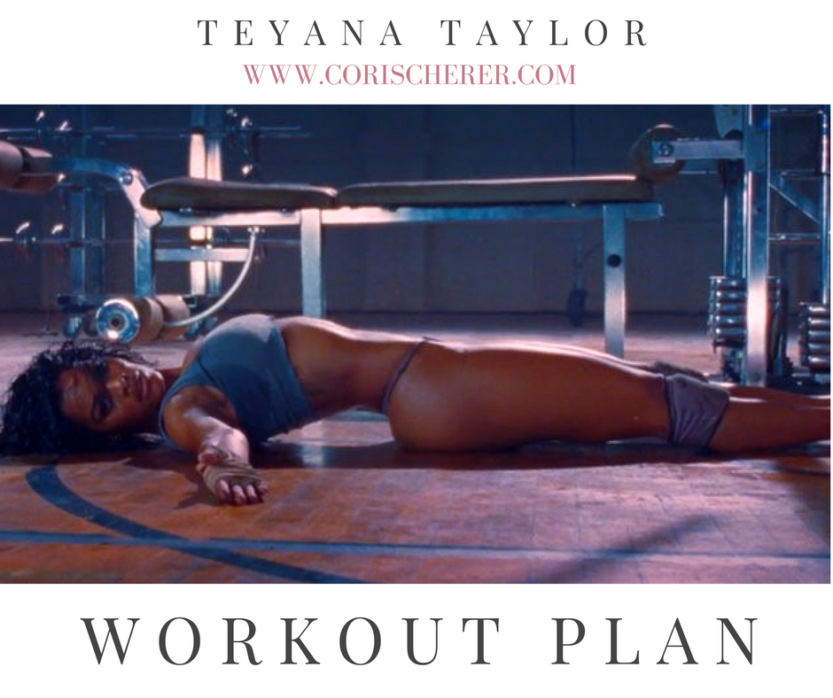Teyana Taylor workout