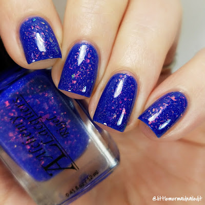 Alchemy Lacquers Star Shards Collection Rigel Swatches and Review